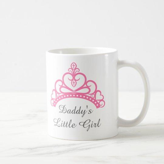 Daddy Little Girl, Chic Pink Princess Tiara Coffee