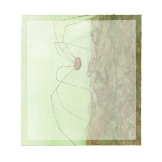 Daddy Long Legs Notepad