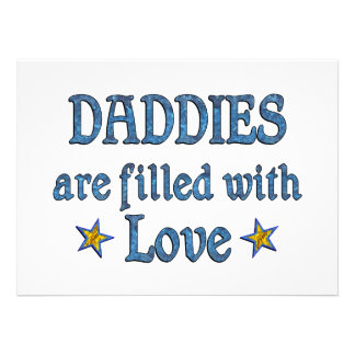 Daddy Love Announcements