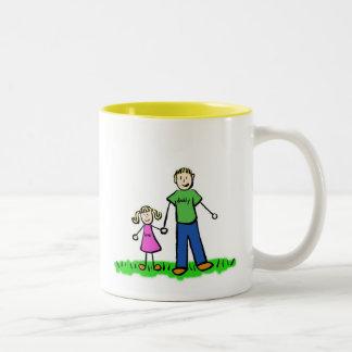 Daddy & Me Mug (Blond) Blank