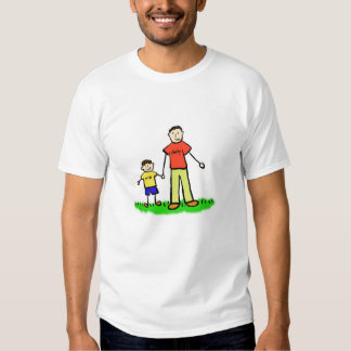 Daddy & Me T-Shirt (Brunette with No Title)