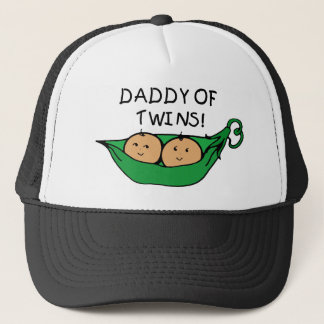 Daddy of Twins Pod Trucker Hat