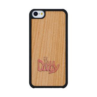 Daddy Pink Baby Cherry iPhone 5C Slim Case