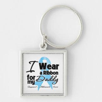 Daddy - Prostate Cancer Ribbon Key Chain