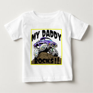 Daddy_Rocks_Ranger Baby T-Shirt