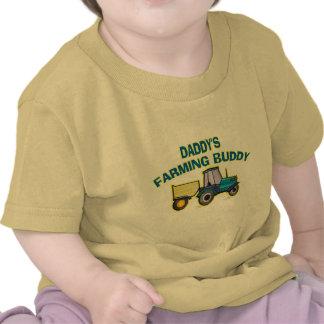 Daddy s Farming Buddy T Shirt