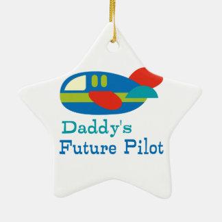 Daddy s Future Pilot Ornament