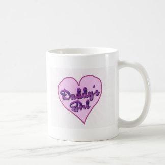 """Daddy""""s Girl Basic White Mug"""