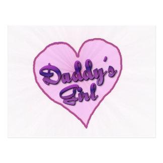 "Daddy""s Girl Postcard"