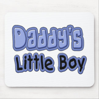 Daddy s Little Boy Mouse Pads