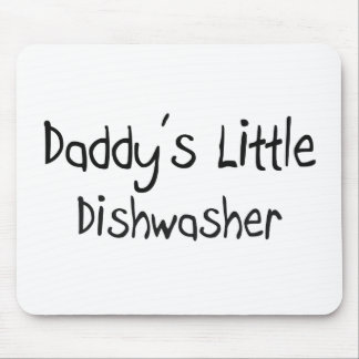 Daddy s Little Dishwasher Mouse Mat
