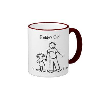 Daddy s Little Girl Drawing Mug Customize