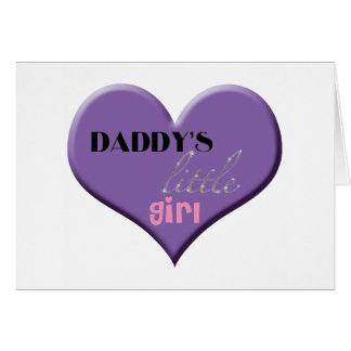 Daddy s Little Girl - Happy Father s Day Greeting Card