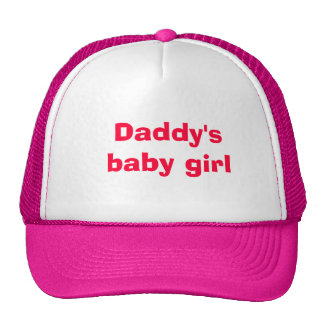 Daddy s little girl mesh hats