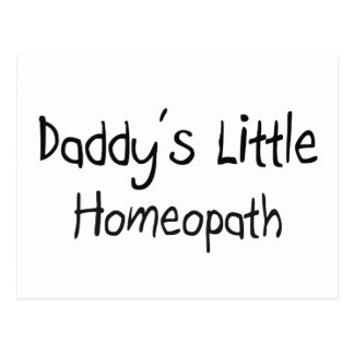 Daddy s Little Homeopath Postcard