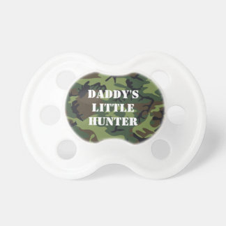 Daddy s little hunter pacifier