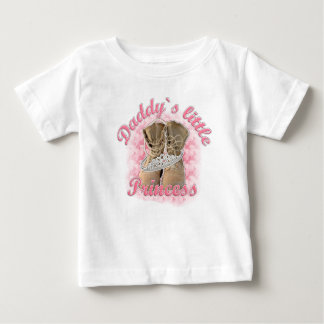 Daddy`s little Princess Baby T-Shirt