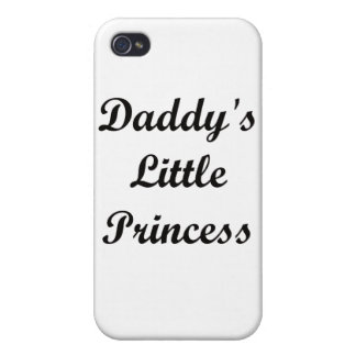 Daddy s Little Princess iPhone 4/4S Cover