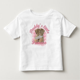 Daddy`s little Princess T Shirts