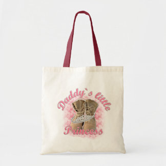 Daddy`s little Princess Budget Tote Bag