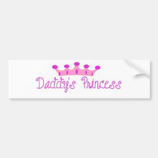 Daddy s Princess Bumper Stickers