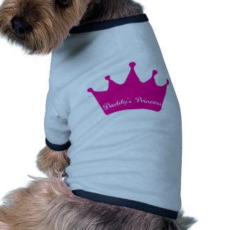 Daddy s Princess Dog Shirt