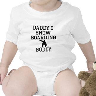 Daddy s Snowboarding Buddy Bodysuit