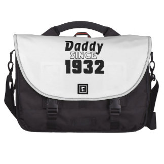 Daddy Since 1932 Laptop Messenger Bag