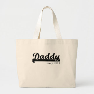 DADDY SINCE 2013.png Jumbo Tote Bag