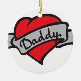 daddy tattoo christmas ornaments
