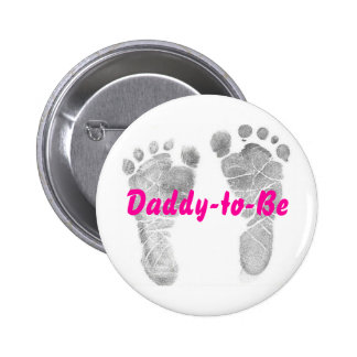 Daddy-to-Be 6 Cm Round Badge