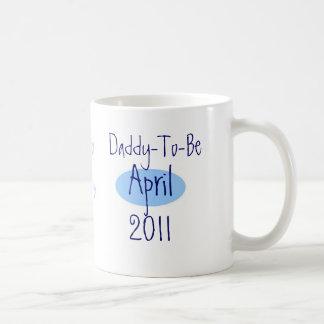 Daddy-to-be Basic White Mug