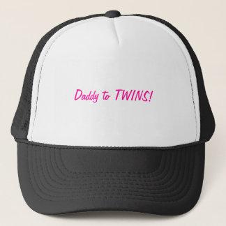 Daddy to TWINS Trucker Hat