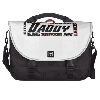 Daddy Word Picture Fathers Day Dad Laptop Commuter Bag