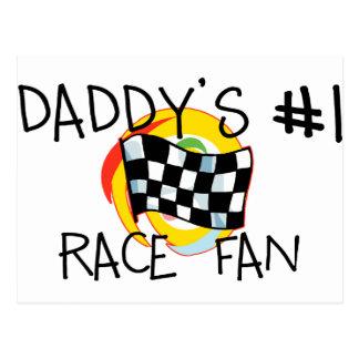Daddy's #1 Fan Post Card