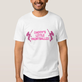 Daddy's Baby Girl Paintball T-shirts