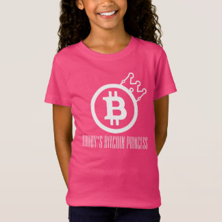 Daddy's Bitcoin Princess-CryptoNook T-Shirt