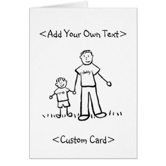 Daddy's Boy Card