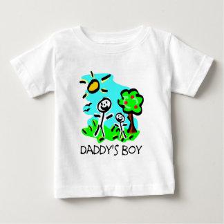 Daddy's Boy Stick Figure Tshirts