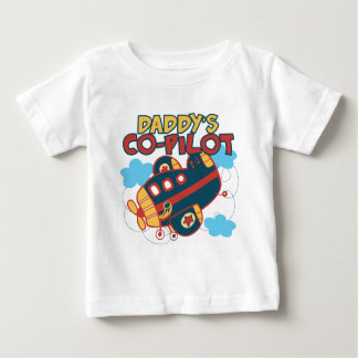 Daddy's Co-pilot Baby T-Shirt