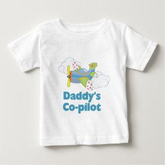 Daddy's Copilot Boy Baby T-Shirt