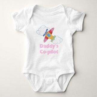 Daddy's Copilot Girl Baby Bodysuit