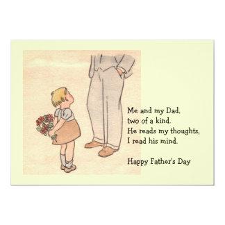 Daddy's Day 13 Cm X 18 Cm Invitation Card