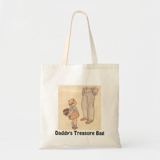 Daddy's Day Budget Tote Bag