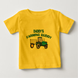 Daddy's Farming Buddy Baby T-Shirt