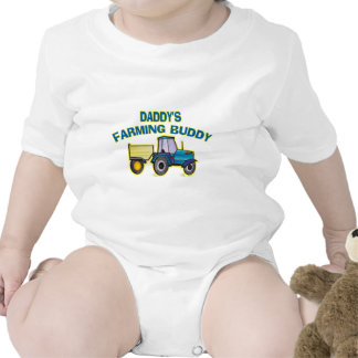 Daddy's Farming Buddy Tee Shirts