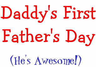 daddys first fathers day gifts gift ideas zazzle uk