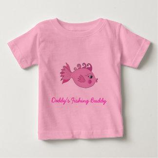 Daddy's Fishing Buddy Baby T-Shirt