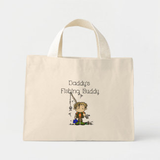 Daddy's Fishing Buddy Tote Bag