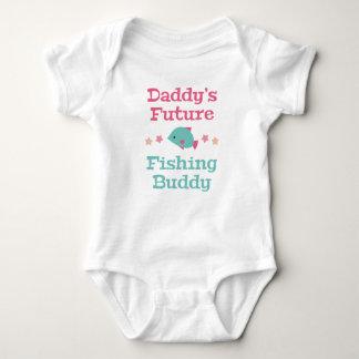 Daddy's Future Fishing Buddy Baby Bodysuit